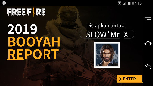 Cara Membuka Url Event Booyah Report dan Brick Warrior Free Fire