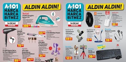 A101 14 Ocak 2021 Elektronik Ürünler Kataloğu
