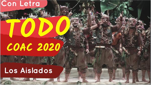 🌴🌴Presentación, Popurri y TODOS los Pasodobles con LETRA de la Comparsa 🌴🌴Los Aislados🌴🌴 (2020)