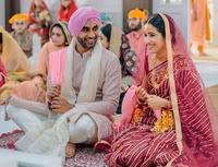 jayant yadav with her wife   jayant yadav marriage photo