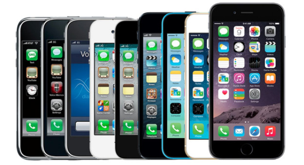 Apple's Smartphone Evolved