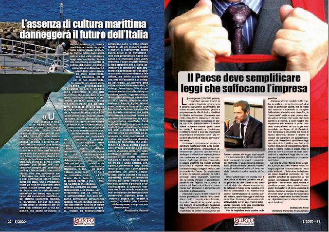 MAGGIO 2020 PAG. 22 - L'assenza di cultura marittima danneggerà il futuro dell'Italia