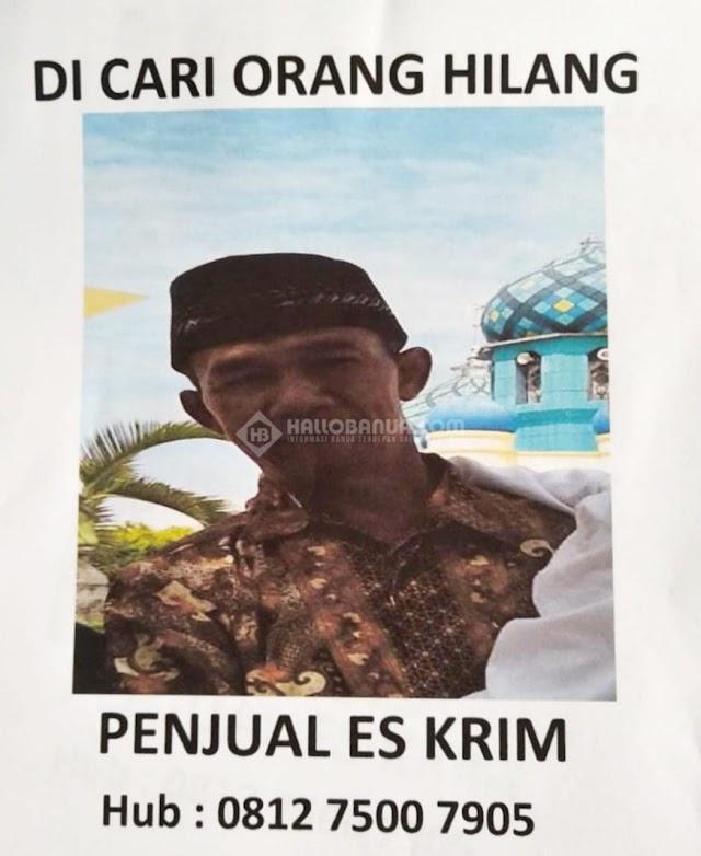 Paman Penjual Es Tidak Pulang, Diduga Hilang Di Taringkin Kabupaten Banjar