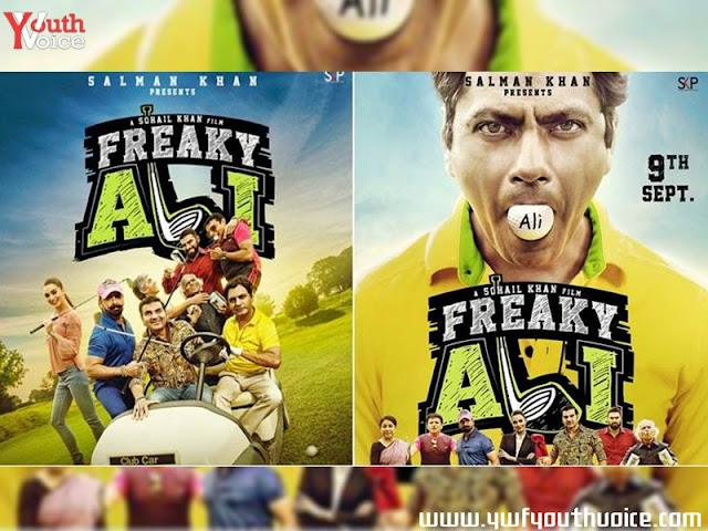 Freaky Ali Trailer 2016 Movie Poster Wallpaper featuring Nawazuddin Siddiqui Arbaaz khan Sohail Khan Amy Jackson Salman Khan