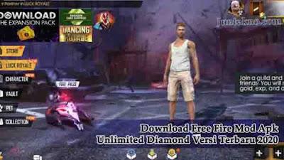 Free Download Fire Mod Apk Unlimited Diamond Versi Terbaru 2020, free fire, mod apk, free fire apk