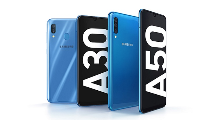 Samsung Launches Galaxy A30 and Galaxy A50