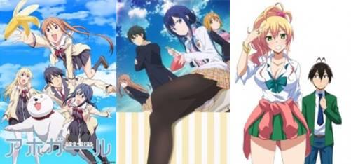 anime romance school terbaik 2017 comedy