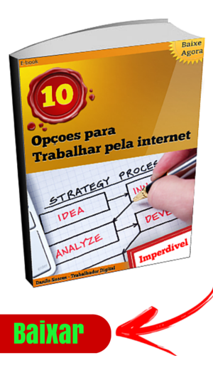 ebook 10 opçoes trabalhar pela internet