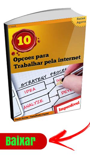 ebook 10 opçoes trabalhar pela internet