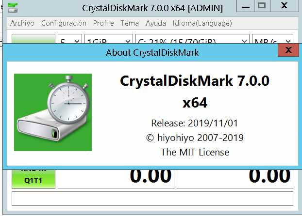 CrystalDiskMark 7.0.0f poster box cover