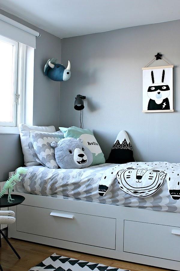 dormitorio infantil decoración nórdica