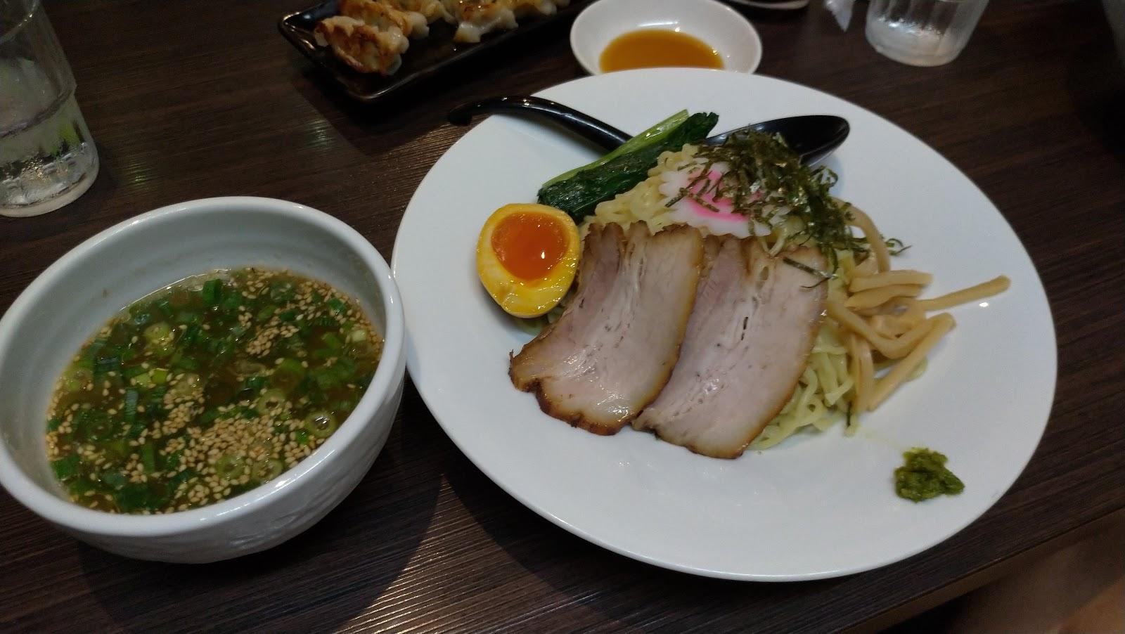 長崎市 ラーメン 麺屋富貴 つけ麺冷やし
