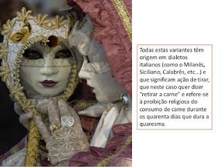 a origem das mascaras venezianas