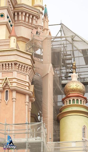奇妙夢想城堡, Castle of Magical Dreams, 香港迪士尼樂園, Hong Kong Disneyland, HK, Construction Update, Disney Magical Kingdom Blog, HKDL, Disney Castle