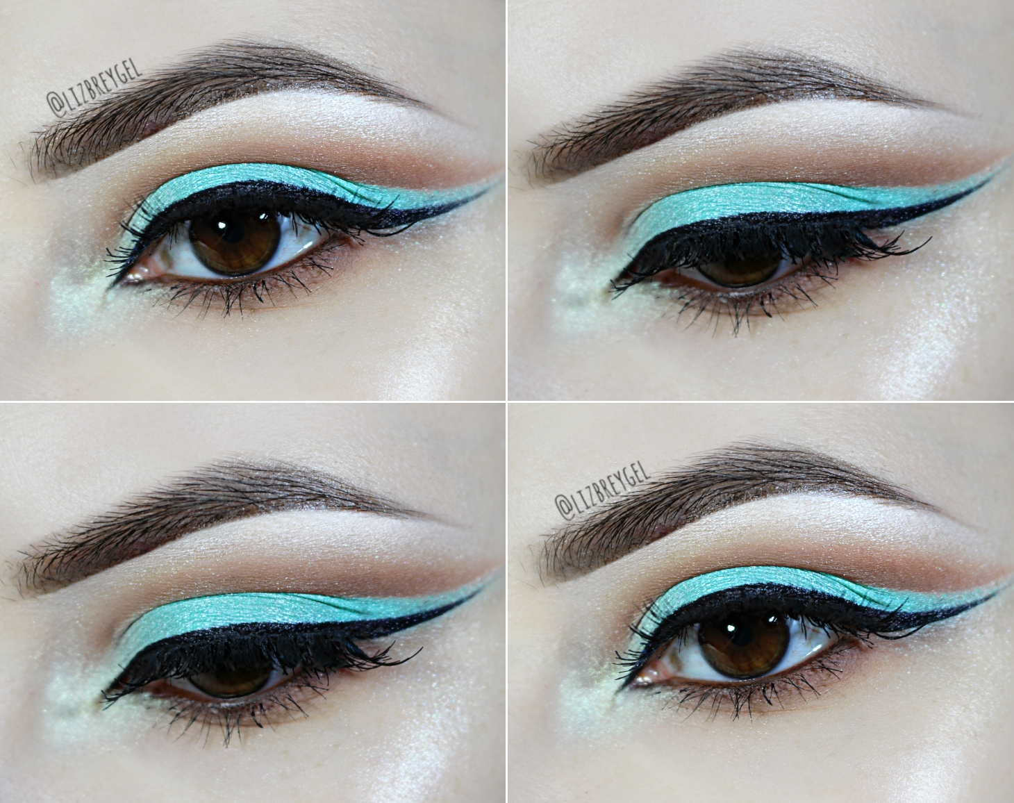 Chocolate Mint Cut Crease Nicki Minaj Inspired Makeup Tutorial