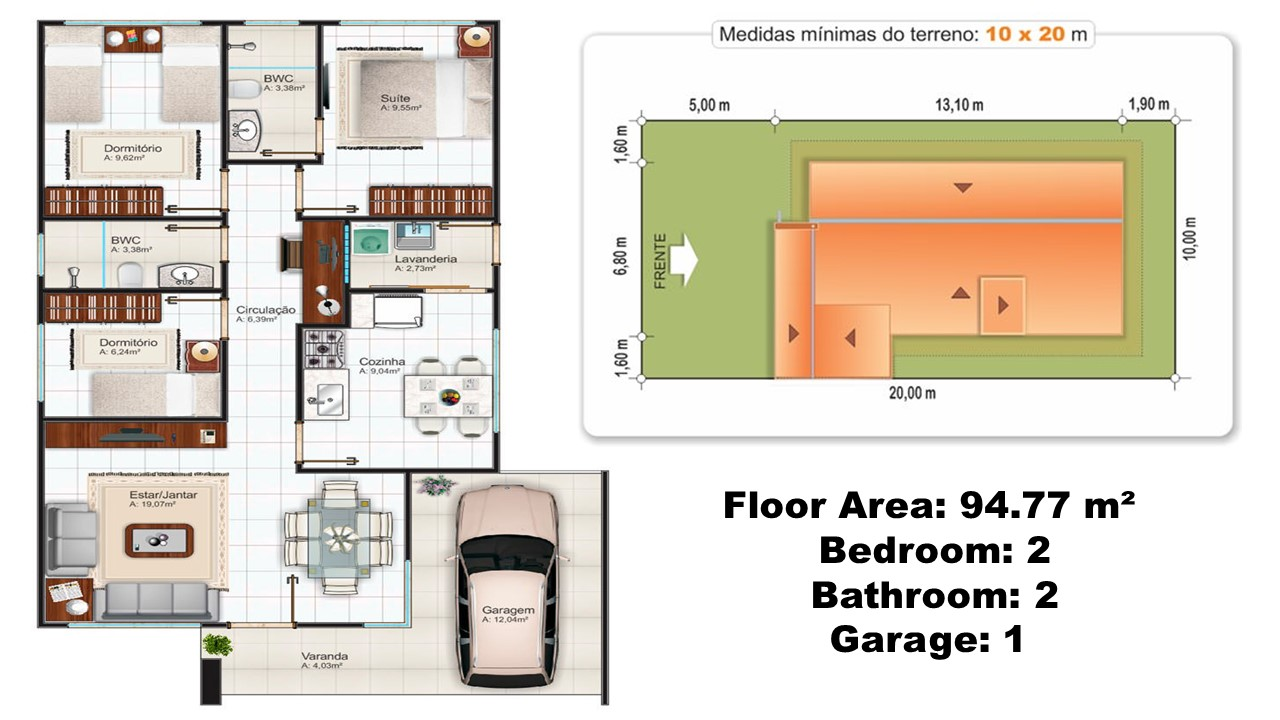 70 Sqm Small House With Floor Plans
