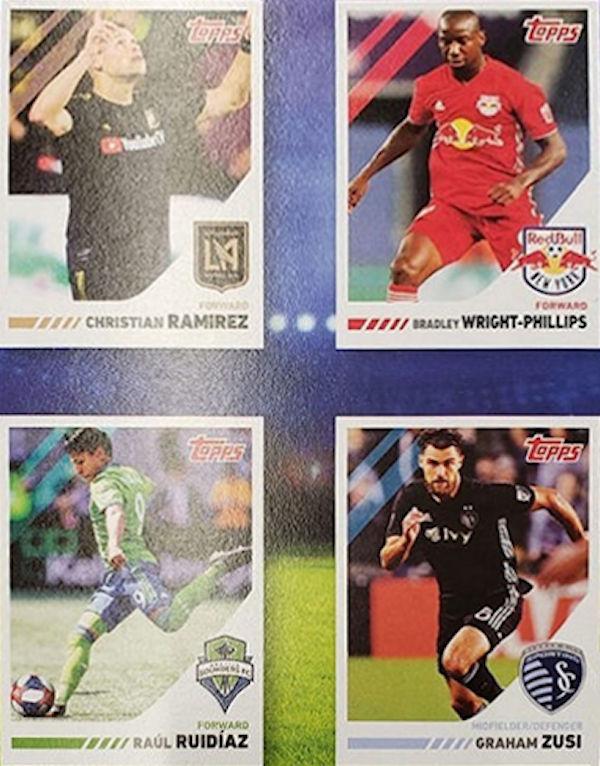 2019 Topps Post céréales Soccer Stars Darwin Quintero MINNESOTA UNITED FC