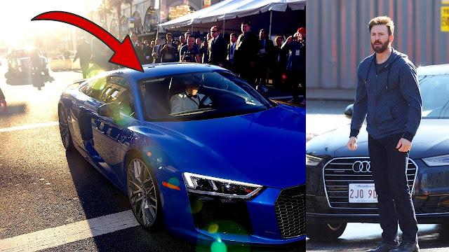 Chris Evans's Cars