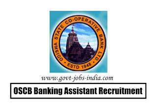 OSCB Banking Assistant Recruitment 2020