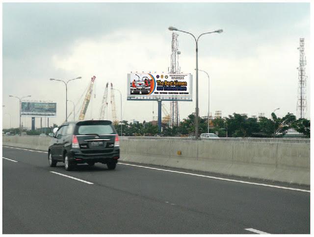 sewa billboard tol bandara