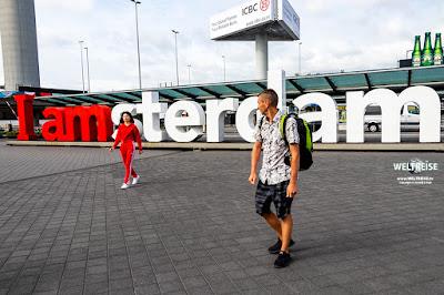 Schiphol Flughafen in Amsterdam www.WELTREISE.tv