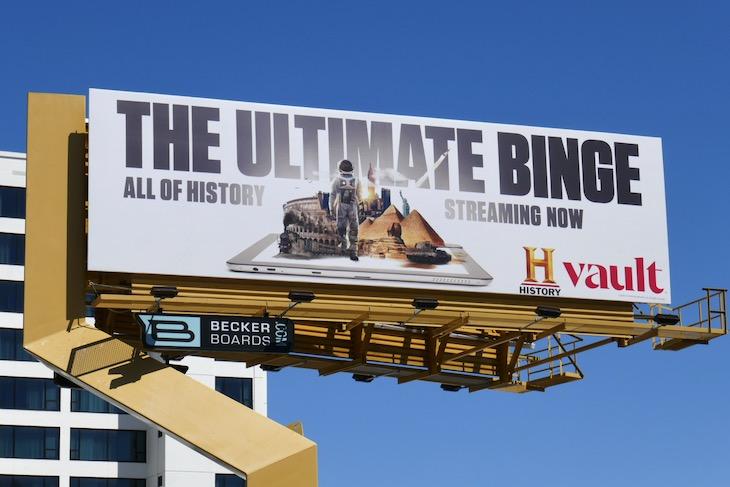 History Vault Ultimate Binge billboard