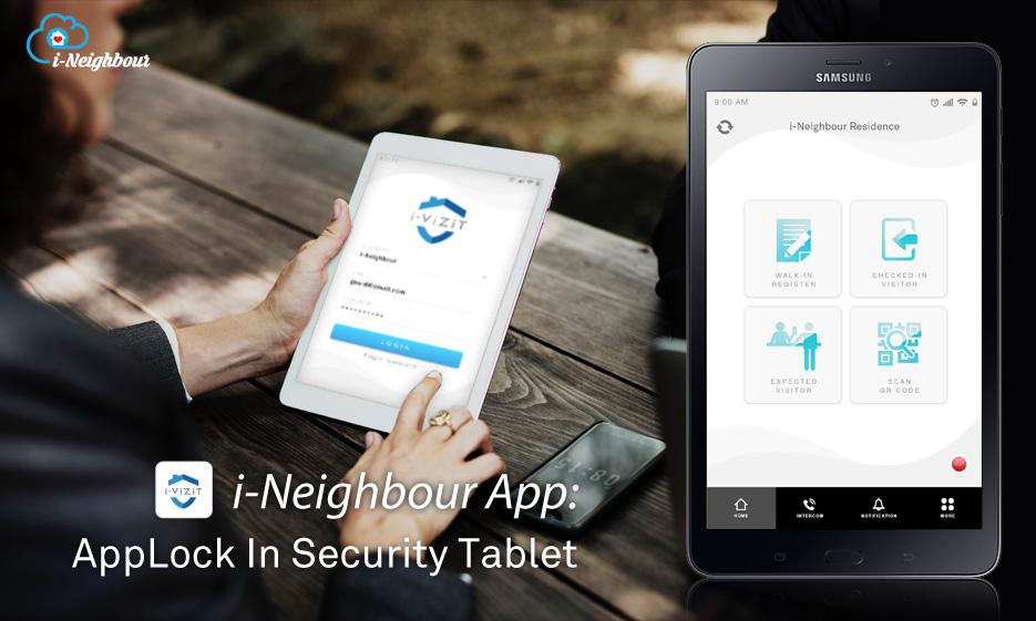 i-Neighbour App: App Lock In Security Tablet (i-Vizit