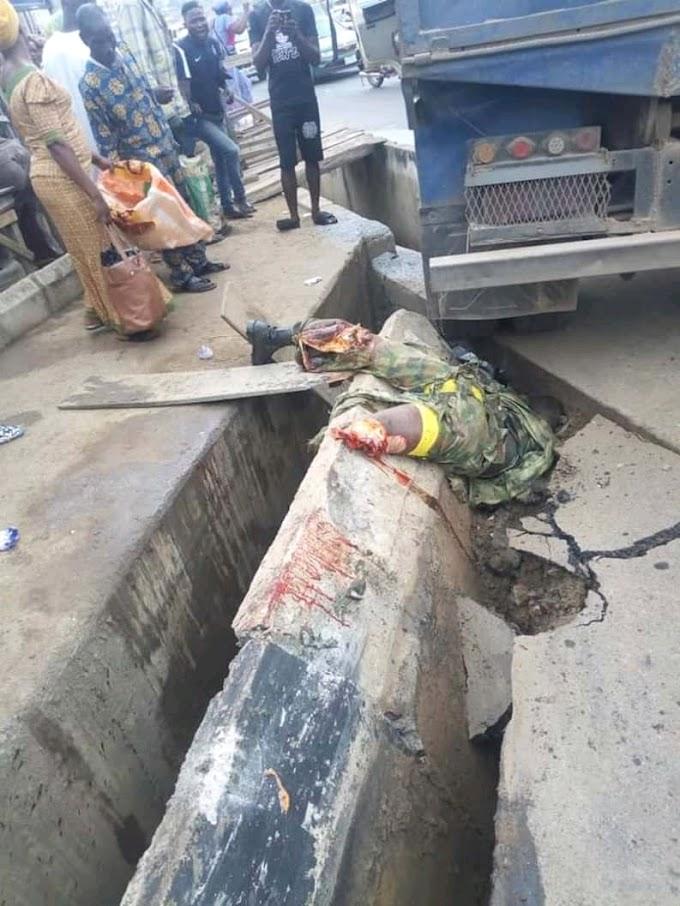 A Military Man Was Killed in Iyana Mortuary - Idiaba Again