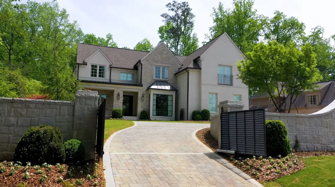 71 Photos vs. 5217 Lake Forrest Dr, Sandy Springs, GA Interior Design Luxury Mansion Tour
