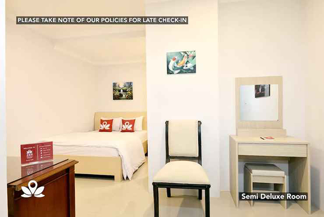 Sudut Kamar Hotel Kemang Eleven