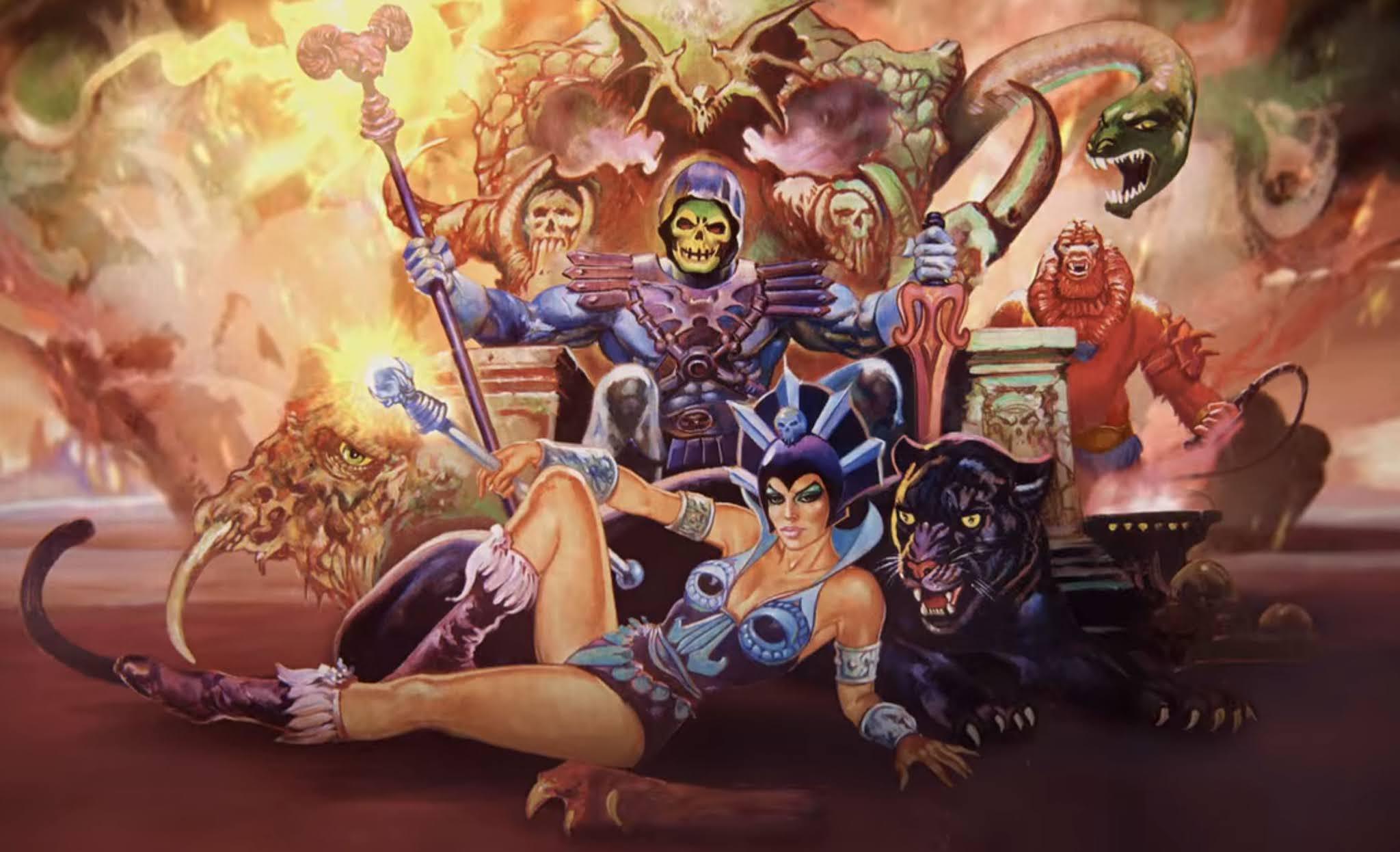 Masters of the Universe Revelation Maroto poster