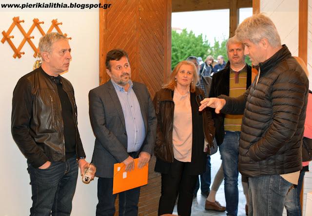 Ο Ευρωβουλευτής του ΣΥΡΙΖΑ, Στέλιος Κούλογλου στην Κατερίνη και στον Καπνικό Σταθμό.