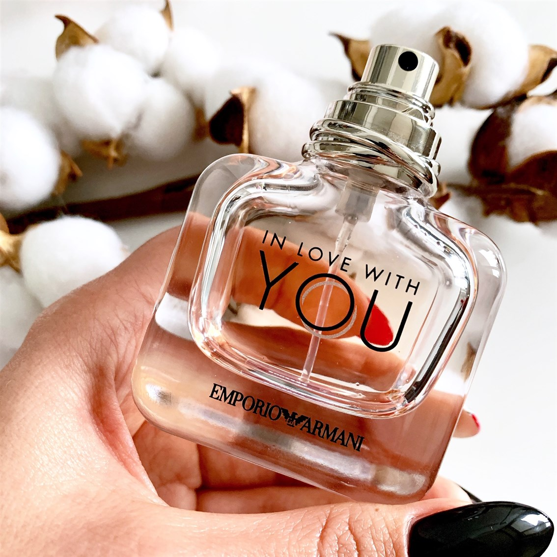 Emporio Armani In Love With You blog