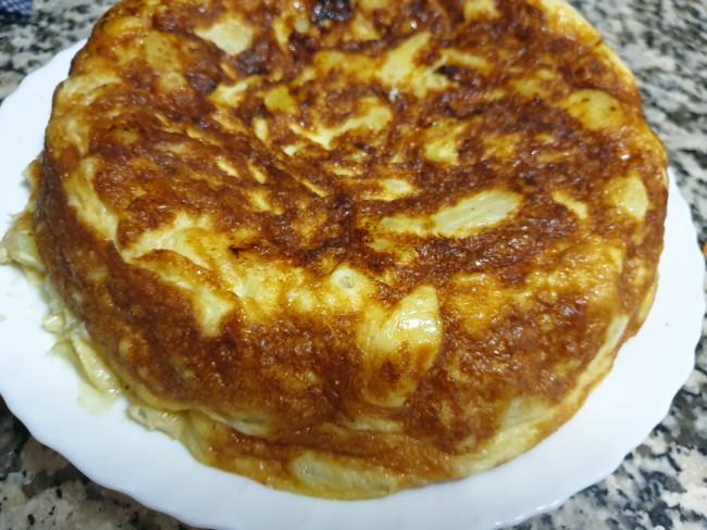 Tortilla De Patatas Y Cebolla Olla Gm