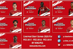 Liverpool FC Start Screen Pack For - PES 2017 & PES 2019