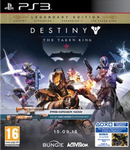 Destiny The Taken King Legendary Edition PS3 Torrent
