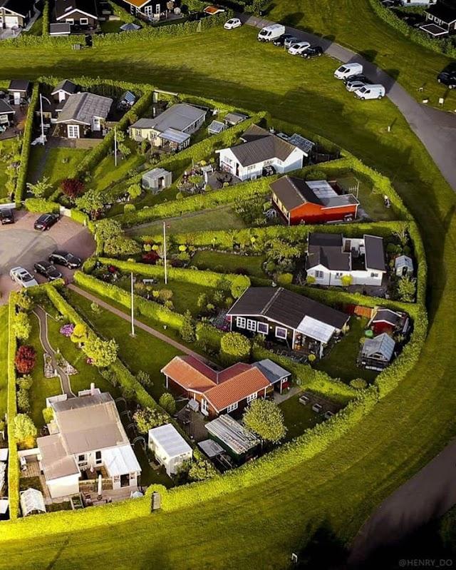 Thành phố vườn được quy hoạch như những bánh xe thần tiên