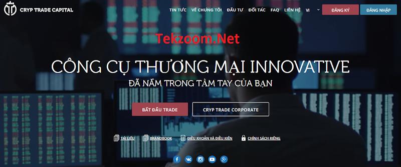 [SCAM] Cryp Trade Capital [CTC] ra mắt phiên bản tiếng Việt Nam - Một dự án chiến lâu dài năm 2017