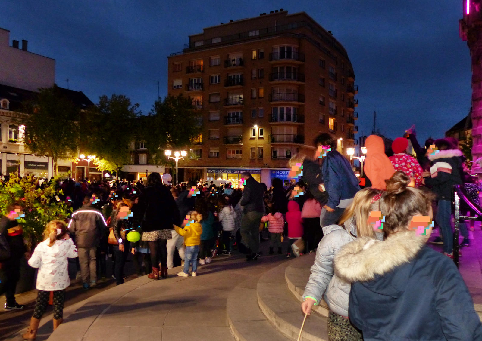 Place Victor Hassebroucq - Allumoirs Tourcoing 2019