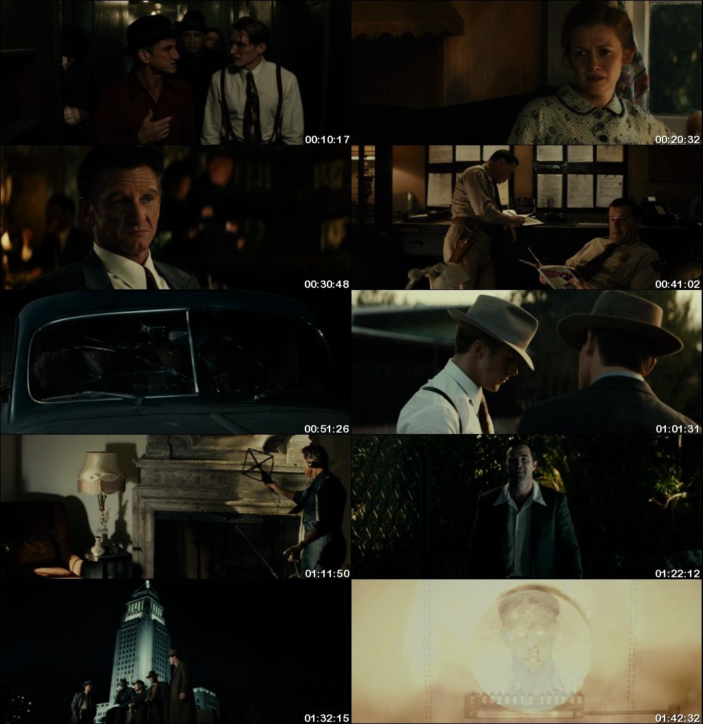 Watch Online Free Gangster Squad (2013) Hindi Dual Audio 480p 720p Bluray