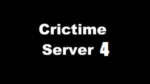 crictime server 4