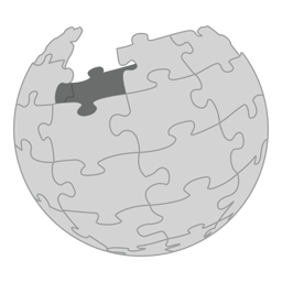 Wikipedia website Logo icon