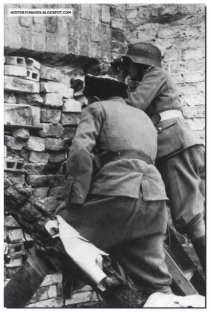 German collaborators included  Russian Cossacks Warsaw Uprising 1944