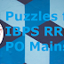 Puzzles for IBPS RRB PO Mains 2019 | 16th September 2019