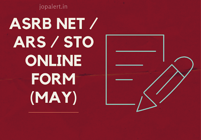 ASRB NET / ARS / STO Online Form (May)