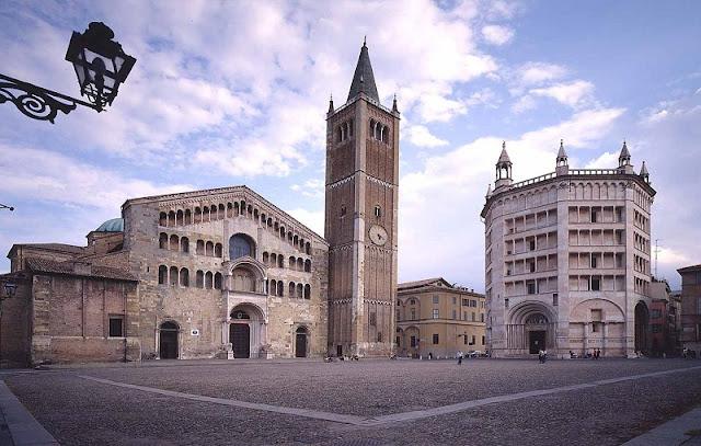 Piazza Duomo em Parma