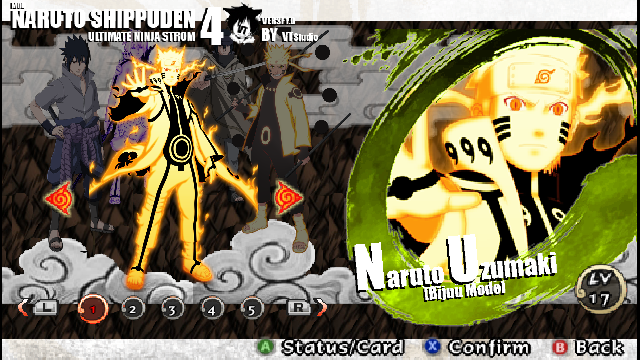 download naruto shippuden ultimate ninja storm 4 psp android