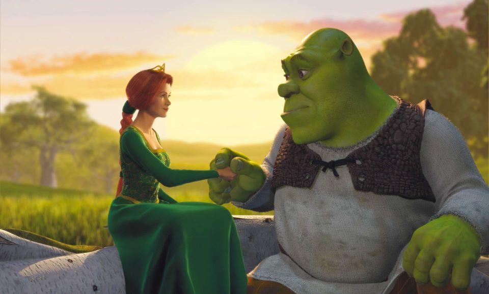 Princess Fiona and Shrek