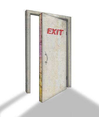 exit door