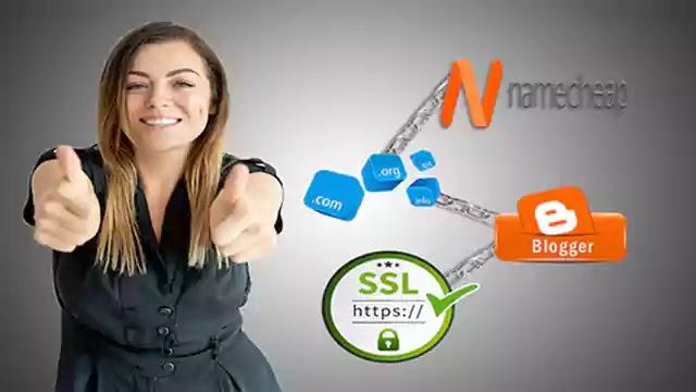 طريقة شراء و ربط دومين من namecheap مع مدونة بلوجر و تفعيل شهادة ssl مجانا
